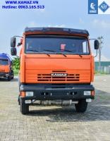 Xe bồn chở xăng dầu 23 khối, xe bồn xăng dầu kamaz 4 chân 23 khối, xe bồn kamaz