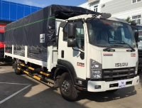 Isuzu FRR sản xuất năm 2021 Số tự động Xe tải động cơ Dầu diesel