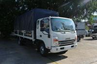 Xe tải jac N650 6.5 tấn thùng bạt 6m2 động cơ cummin nhập | Hỗ trợ trả góp