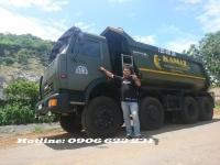 Bán xe ben Kamaz 4 chân 15m3  tại Đồng Nai & Bình Dương