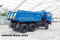 Bán xe ben 3 giò Kamaz 15 tấn tại Daknong | Kamaz 65115 (6x4) GA CƠ nhập khẩu [chuyên khai thác mỏ, san lấp...]