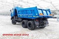 Bán xe ben 15 tấn Kamaz, Xe ben Kamaz 65115 (6x4) 10m3  tại Kamaz Bình Dương