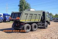 Xe ben 15 tấn Kamaz, Xe ben Kamaz 65115 (6x4) GA CƠ chuyên chạy san lấp khai thác mỏ