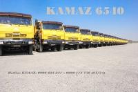 Xe ben 4 giò Kamaz | Bán xe ben Kamaz 6540 (8x4) 15m3 Nhập khẩu GA CƠ [ Trả góp]