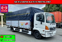 Xe tải Hino 6.4t thùng bạt hỗ trợ vay 80 - 85%