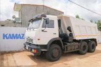Xe Ben Kamaz 65115 VAT 2016 (6x4) nhập khẩu châu âu
