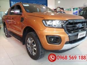 Cần bán lại xe Ford Ranger wildtrak Bi Turbo đời 2019, xe nhập, giá tốt tại HƯng Yên