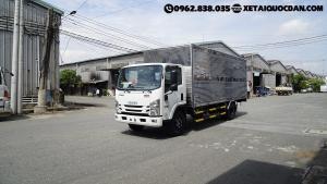 Xe tải Isuzu NQR75ME4, Tải trọng 5 Tấn 5, Thùng dài 5m6 | Isuzu NQR550