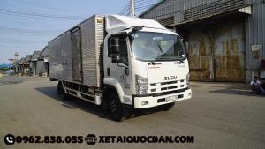 Xe tải Isuzu FRR650 – Thùng kín 6T2, thùng dài 5m6 – Giá tốt nhất