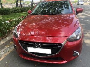 Bán Mazda 2 2016, màu đỏ, đúng chất, giá TL, hổ trợ góp
