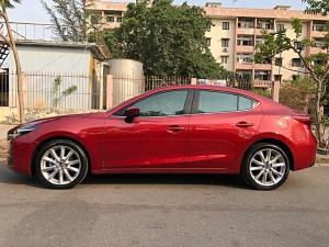 Bán xe Mazda 3 màu đỏ 2017 xe gia đình chính chủ bstp đẹp