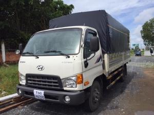xe tải hyundai hd99 máy cơ tải 6,5 tấn thùng 5 mét