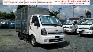 Xe tải Kia K200, 2020, Tải trọng 1,95 tấn, Thay thế K2700 mắt mèo