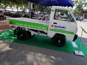 Bán xe Suzuki Truck thùng lững 645kg trả góp tại Cần Thơ