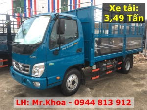 Xe tải Thaco Ollin 350 Euro 4 - Tải trọng 2,15 tấn - Lưu thông thành phố - Hỗ trợ trả góp Bình Dương