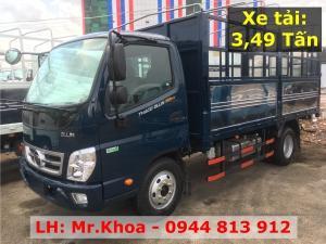Xe tải 3,5 tấn - Thaco Ollin350 E4 - Hỗ trợ trả góp - Bình Dương