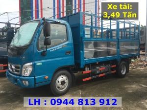Bán xe tải 3T5 Thaco OLLIN 350.E4 Thùng Bạt - Tại Thaco Trường Hải Bình Dương