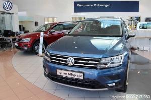 Xe Volkswagen Tiguan Allspace 2019 SUV 7 màu xanh của Đức - Hotline: 0909717983