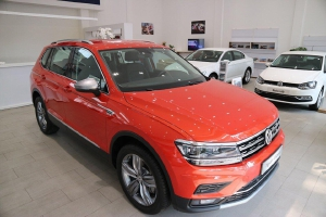 Volkswagen Tiguan Allspace, xe nhập Đức, giá tốt