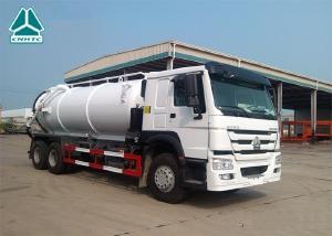 Bán xe Hút Chất Thải Howo 3 chân Bồn INOX nhập khẩu nguyên chiếc