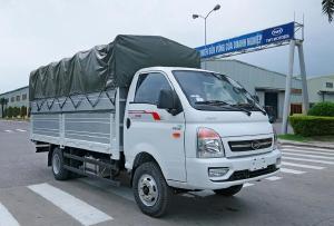 xe tải daisaki 2t5 thùng phủ bạc