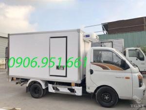 Xe tải Hyundai Poter H150 thùng đông lạnh 1T4, trả góp ngân hàng