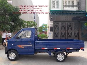 Bán xe DONGBEN 870KG thùng 2m5 trả trước 45tr nhận xe