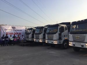 Xe tải Faw thùng dài - Ô Tô Phú Mẫn Bình Dương bán xe tải - Đại lý xe tải thùng dài