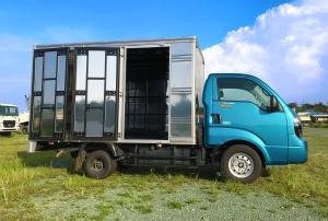 Xe tải Kia K200 thùng kín 2 tấn Xanh Dương