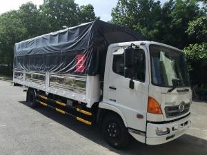 Xe tải HINO FC9JNTC thùng mui bạt 6,2 TẤN – 2019