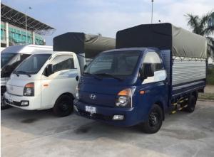 Hyundai Porter, màu xanh lam, KM 40tr,LH 0368.077.675