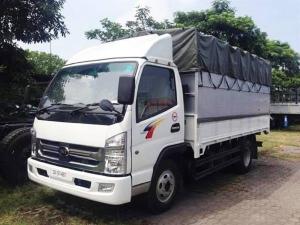 Xe tải Cửu Long TMT HD7335T máy Hyundai 3.5 tấn 2017, thùng mui bạt
