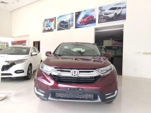 Honda Ôtô Thanh Hóa, Giao Ngay Honda CRV 1.5L, Đời 2019, Màu Đỏ, Giá Cực Sốc, LH: 0962028368