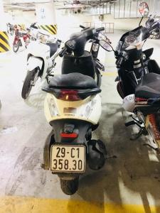 Bán xe zip trắng chính chủ biển Hà Nội