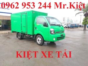 Xe tải thaco KIA K250 thùng kín sơn màu theo yêu cầu đời 2019 hỗ trợ trả góp 80%.