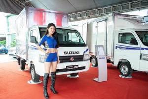 Xe mới suzuki all new carry pro 2019 thùng kín tải trọng 705kg