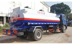 Bán xe bồn chở xăng dầu 12 khối thaco auman