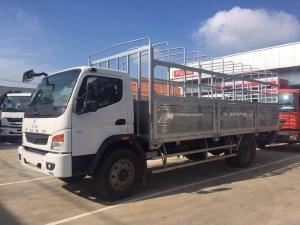 Xe tải Fuso FI Canter12.8RL Tải trọng 7,5 Tấn thùng dài 7m giá rẻ tạo Bình Dương