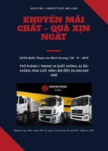 Bán xe tải Dongfeng phiên bản 8 tấn thùng 9.5M giá 890Tr
