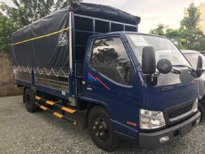 Báo giá xe IZ49 thùng mui bạt, thùng lững Cần Thơ - Xe tải 2,4 tấn