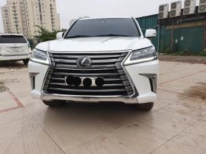 Bán Lexus LX 570 Mỹ màu trắng sx 2018