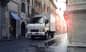 HUYNDAI MIGHTY N250SL 2.5 tấn - xe tải chạy trong thành phố.