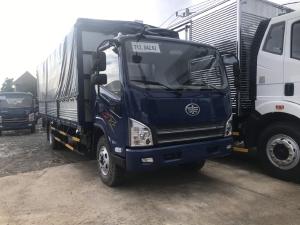 xe tải faw 7 tấn thùng mui bạt 6m3 máy hyundai|Trả trước 150tr nhận xe
