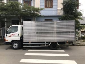 New mighty N250SL thùng kín inox, 2019, Nhập ckd, thùng 4m3
