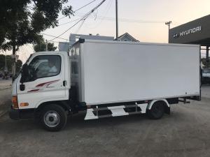 NewMighty N250SL, Thùng kín composite, 2019, tải 2t4