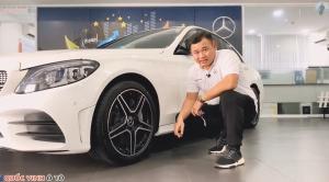 Giá xe Mercedes C300 AMG 2020, chiếc xe chạy
