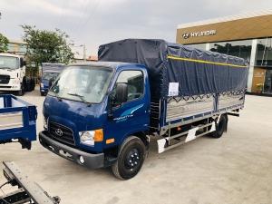 Giá Xe tải Hyundai New mighty 110SL. Tải trọng 7 tấn. Thùng dài 5m7, hổ trợ trả góp 70 - 90%