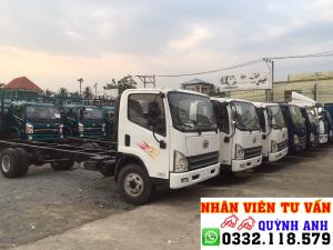 Xe tải FAW thùng dài 6.2 mét