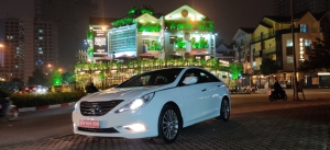 Cần bán xe Hyundai Sonata 2013 màu trắng