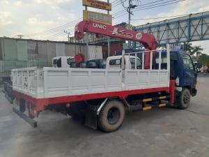 Giá xe tải Hyundai New mighty 110S tải 7 tấn gắn cẩu UNIC UR-V344 3 Tấn 4 Khúc